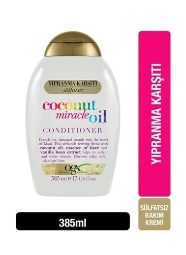 OGX Organix Coconut Miracle Oil Saç Kremi 385 ml Renksiz